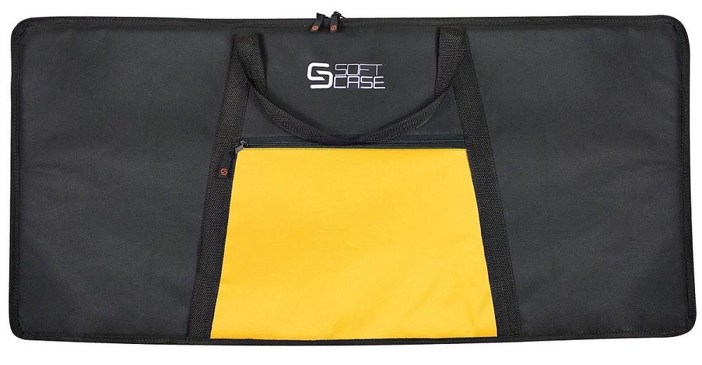Capa Teclado Soft Case Start 7/8 Almofadada - Amarelo