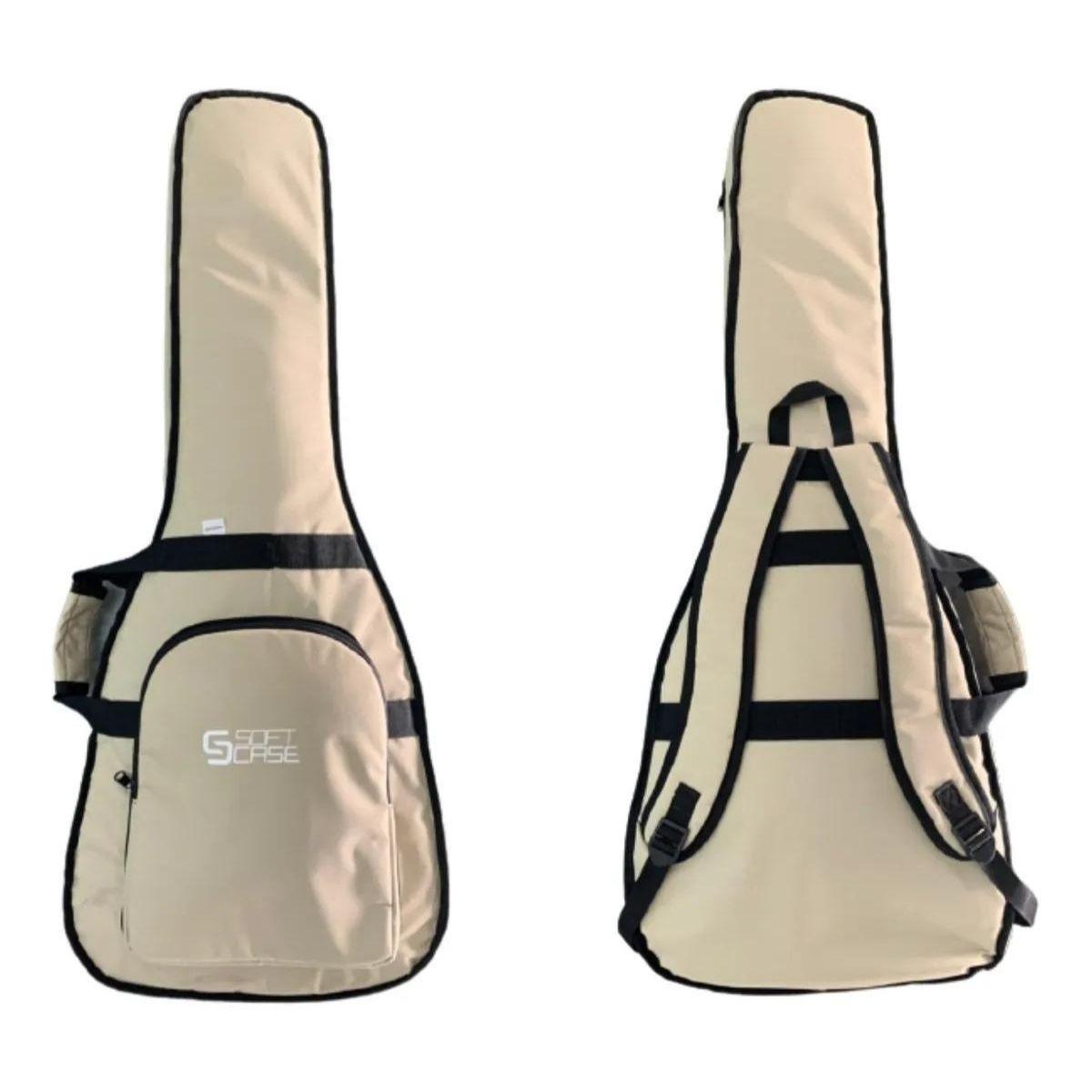 Capa Violão Folk Formato Acolchoada Luxo Start Soft Case