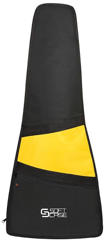 Capa Violão Soft Case Start Clássico Infantil 1/2 P Almofadada - Amarelo