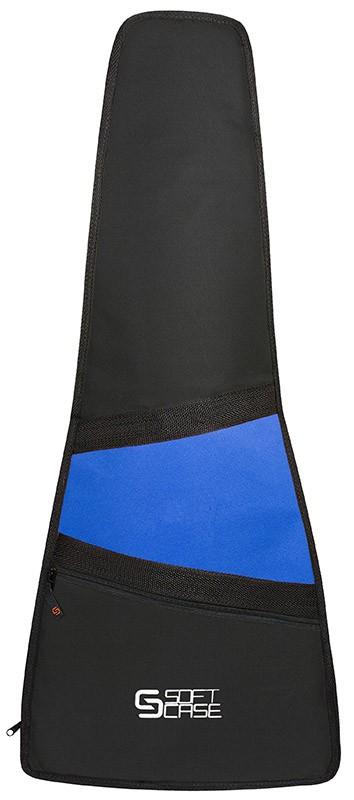 Capa Violão Soft Case Start Clássico Infantil 1/2 P Almofadada - Azul
