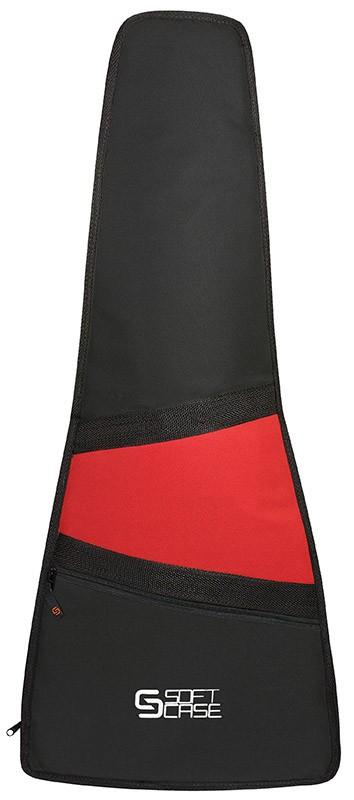Capa Violão Soft Case Start Clássico Infantil 3/4 M Almofadada - Vermelho