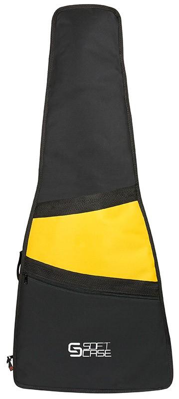 Capa Violão Soft Case Start Folk Almofadada - Amarelo