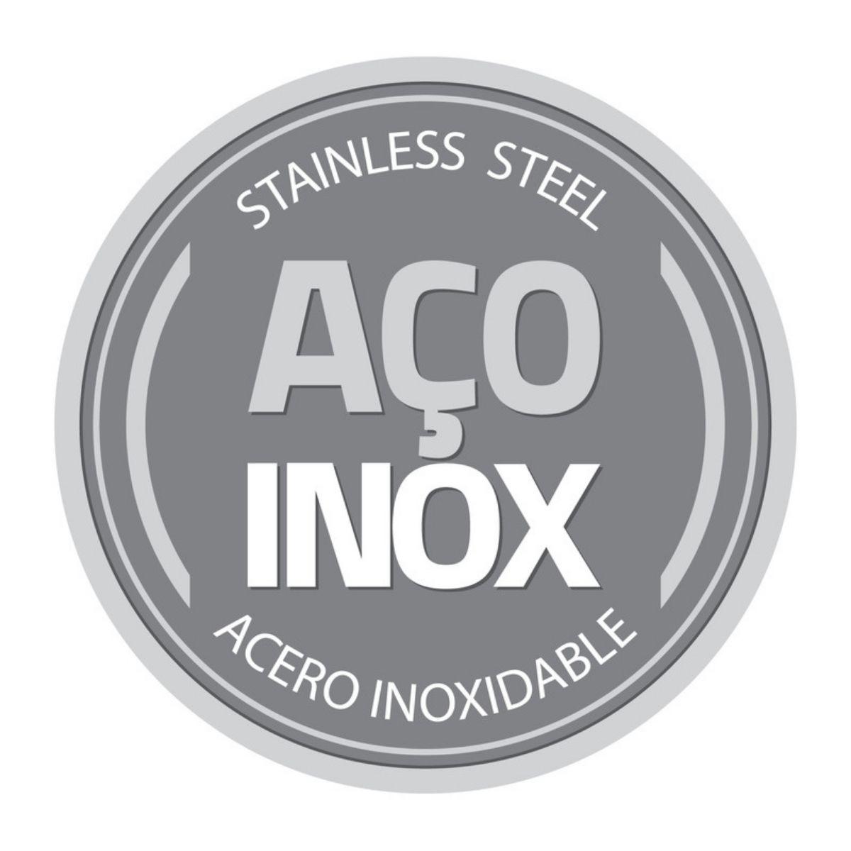 Colher Suco Refresco Longa Tramontina Aço Inox Tropical - Super Luxo