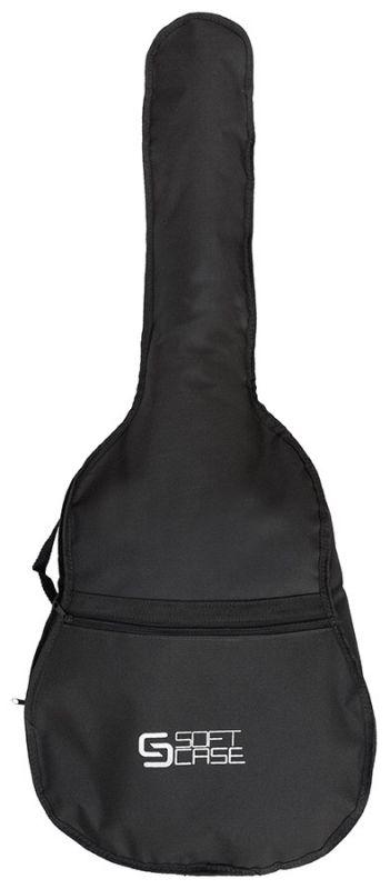 Combo=Capa Violão Soft Case Clássico Nylon Simples + Capa Violão Folk