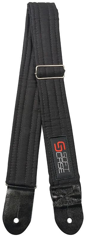 Correia Soft Case Sarja Com Logo 5cm Preta