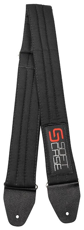 Correia Soft Case Sarja Com Logo 7cm Preta