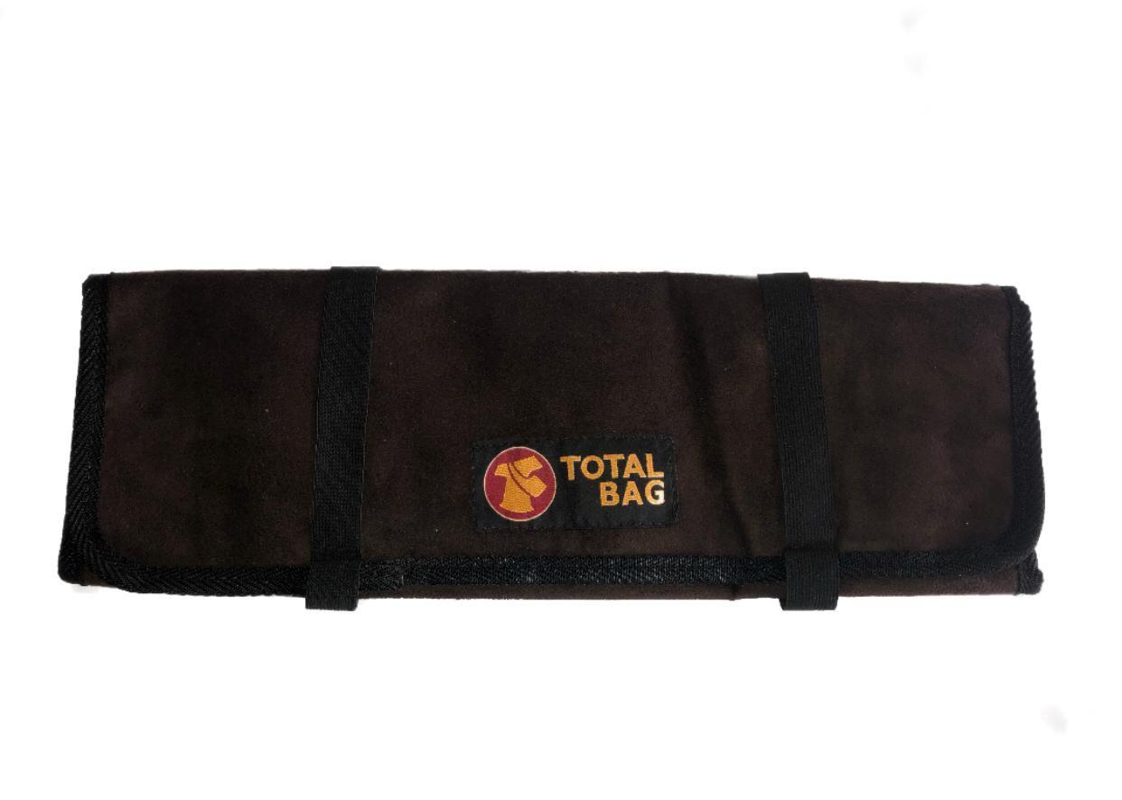 Bolsa Para Facas Professional Cheff Total Bag - Marrom