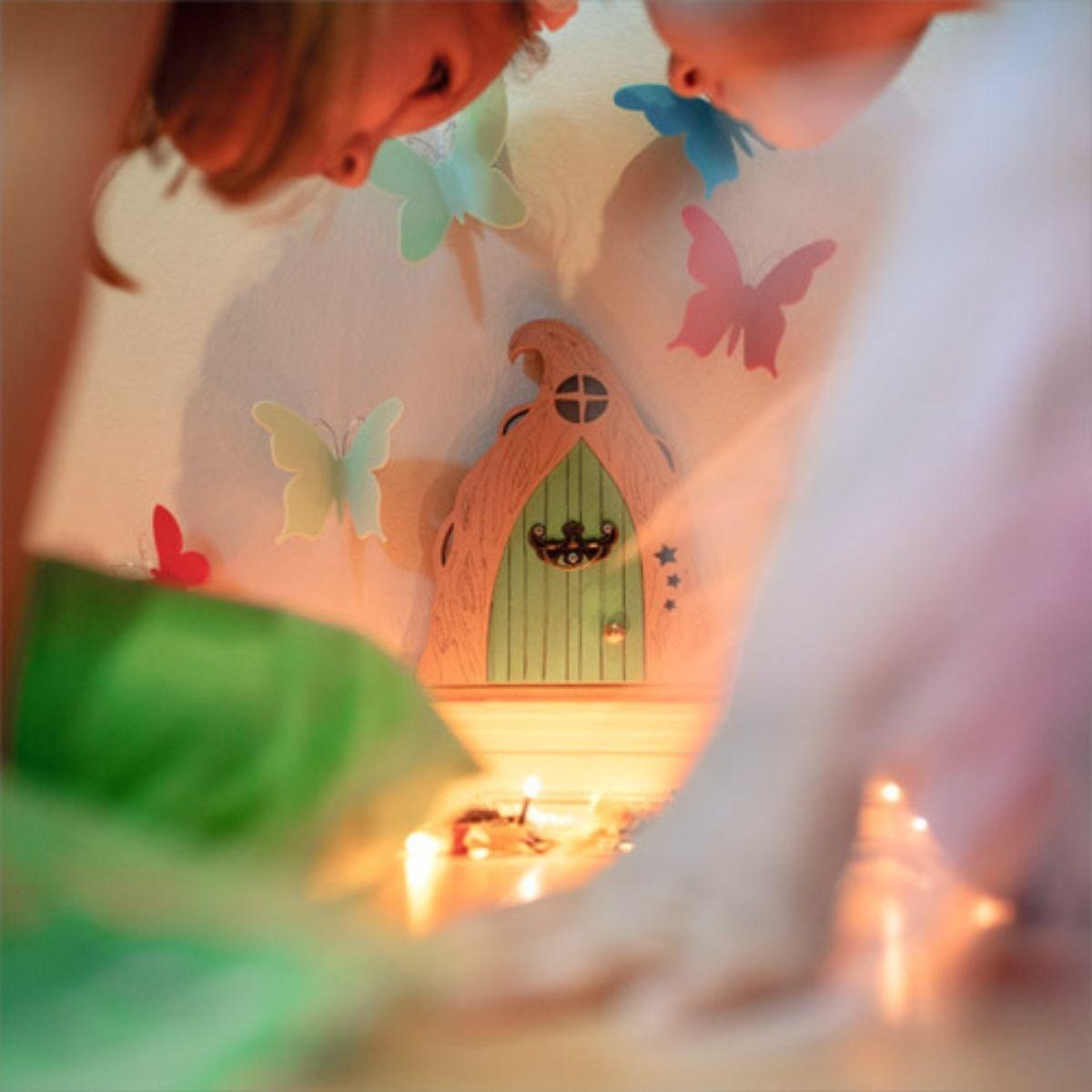 Histórias Infantis Fantasia Porta Das Fadas - Rosa