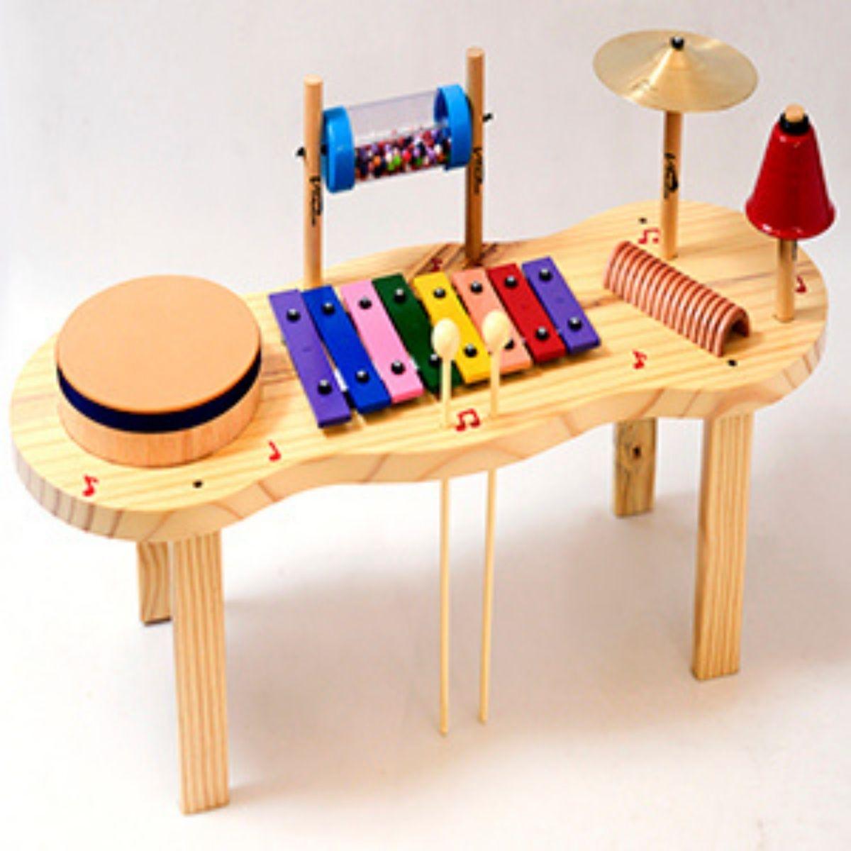 Instrumento Musical Infantil Pequena Percurssão