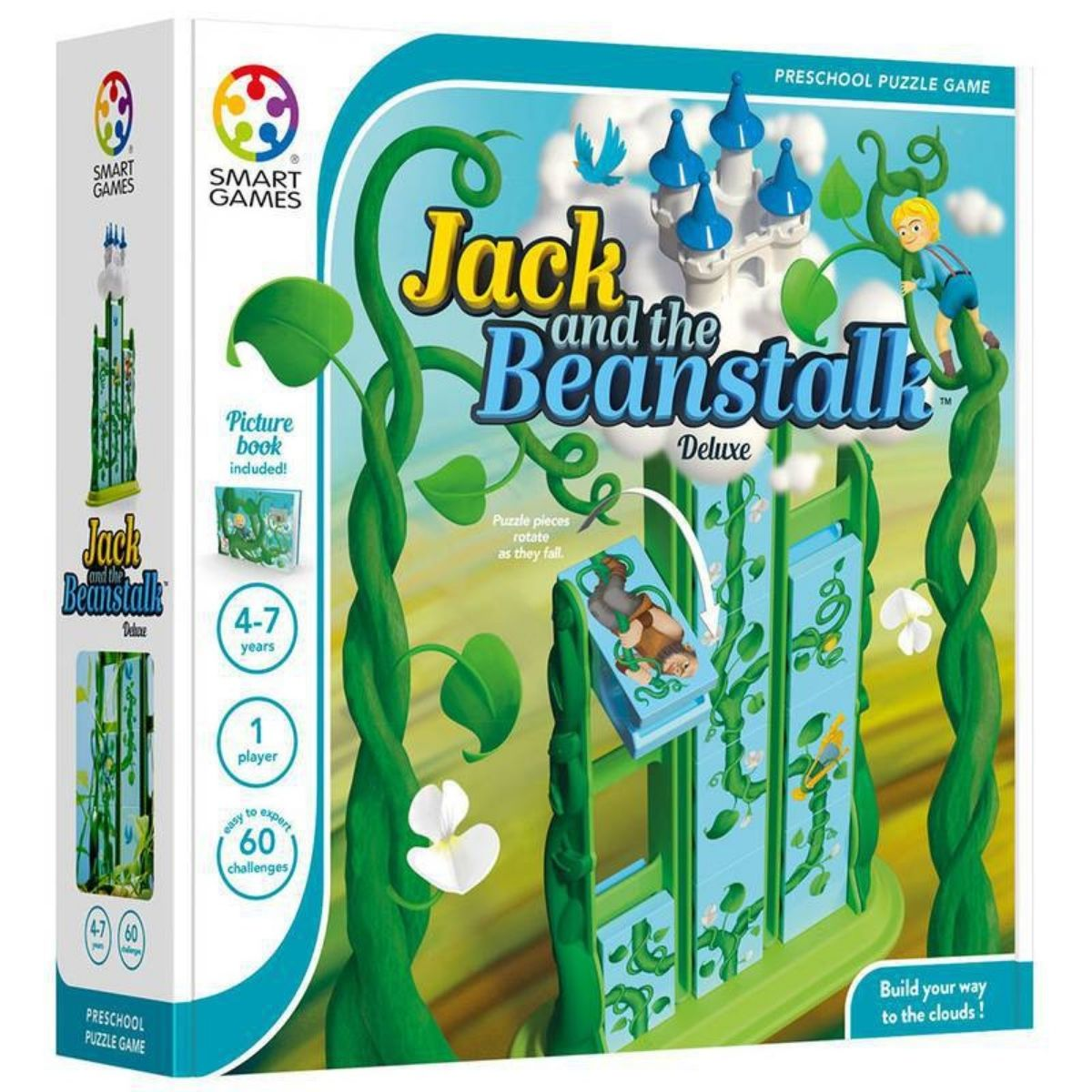 Jogo Tabuleiro Raciocínio Educativo Jack And The Beanstalk