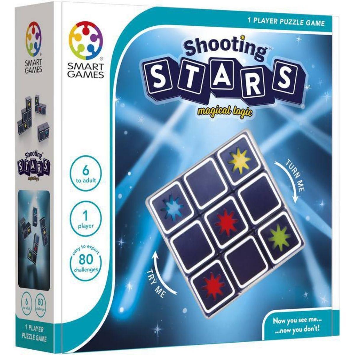 Jogo Tabuleiro Raciocínio Educativo Lúdico Shooting Stars