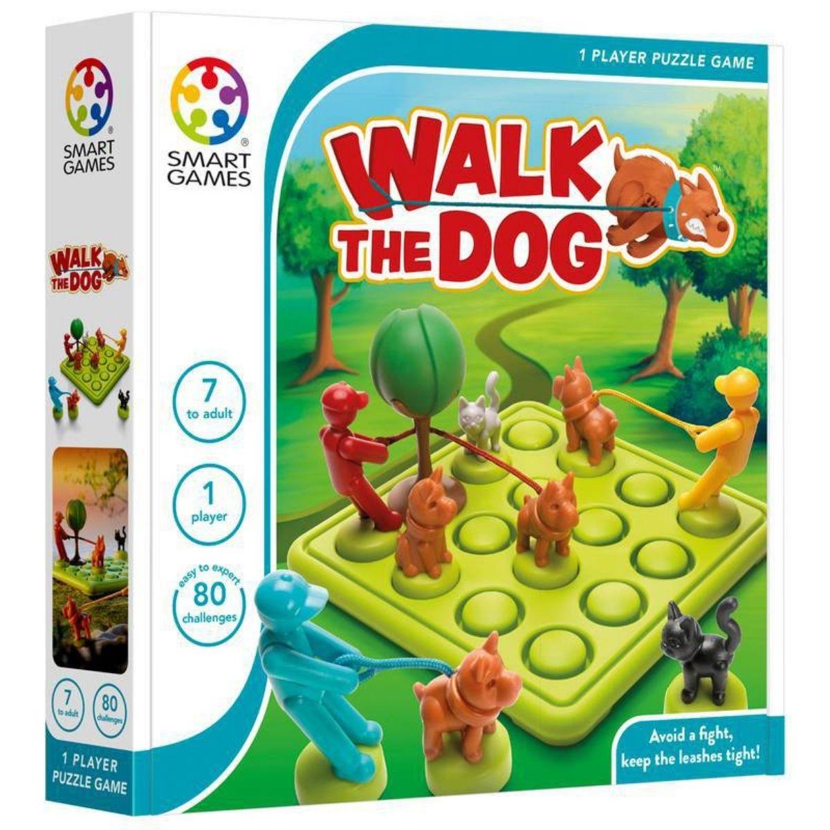 Jogo Tabuleiro Raciocínio Educativo Lúdico Walk The Dog