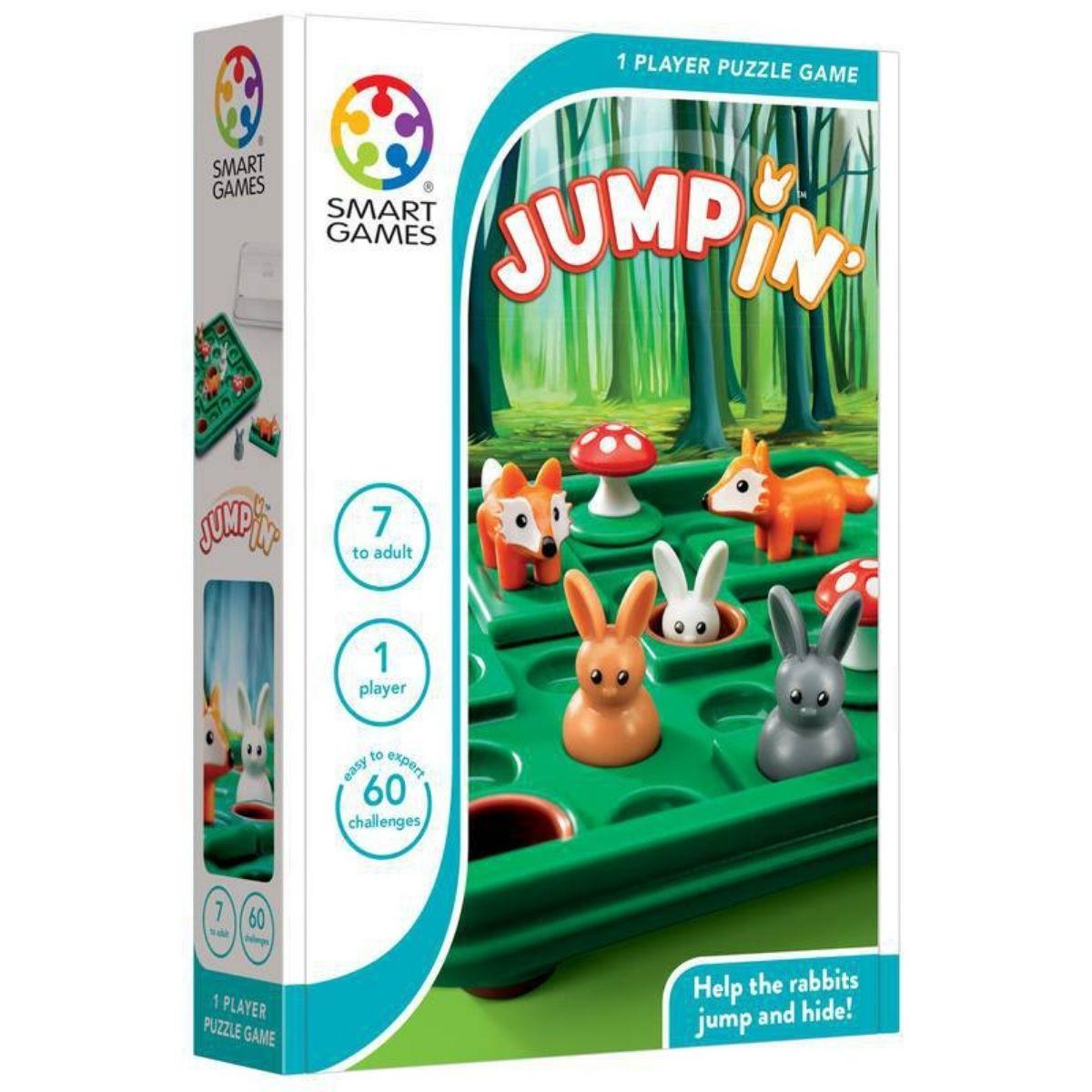 Jogo Tabuleiro Raciocínio Lógico Educativo Lúdico Jumpin