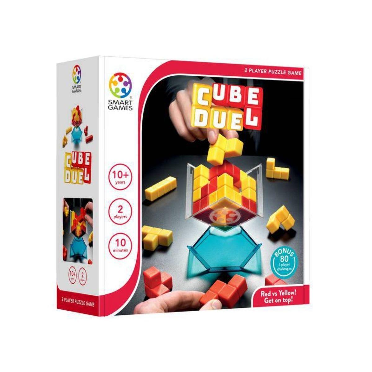 Jogo Tabuleiro Raciocínio Lógico Lúdico Cube Duel