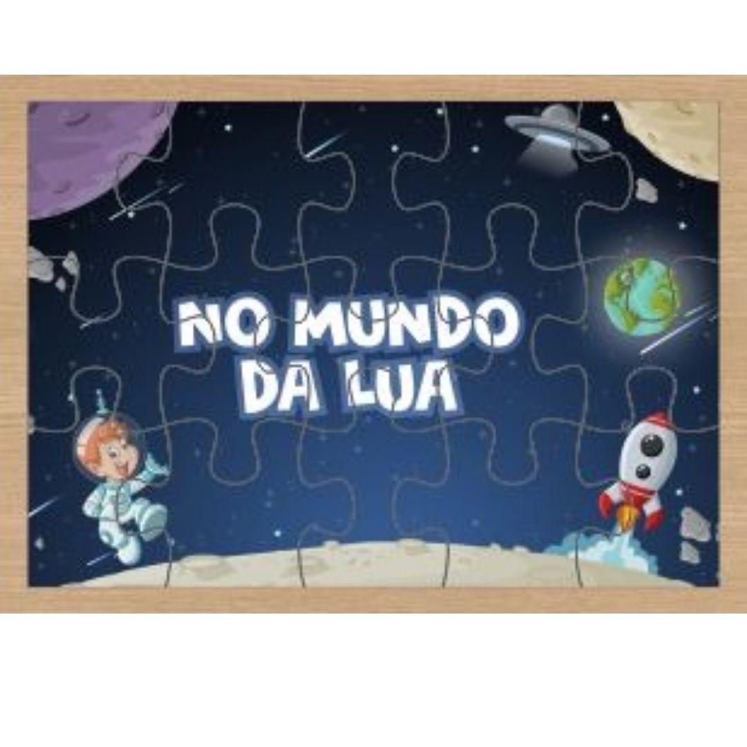 Kit 2 Quebras-Cabeças Infantil - Brinquedo Educativo