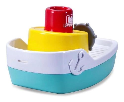 Kit Brinquedo Para Banho Bebe Barco Submarino Lancha Piscina