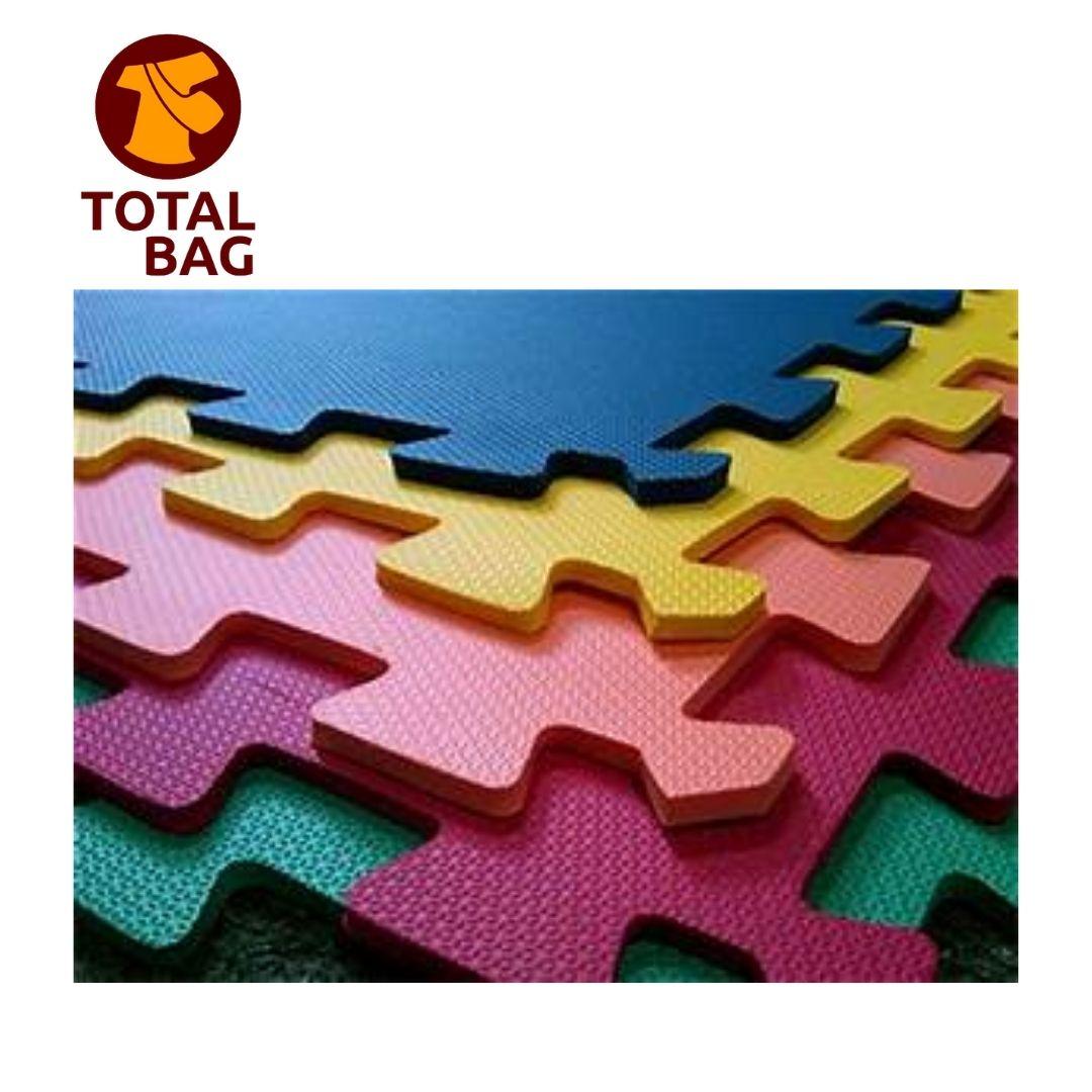 Kit Tatame Tapete EVA - 50 x 50 cm Colorido
