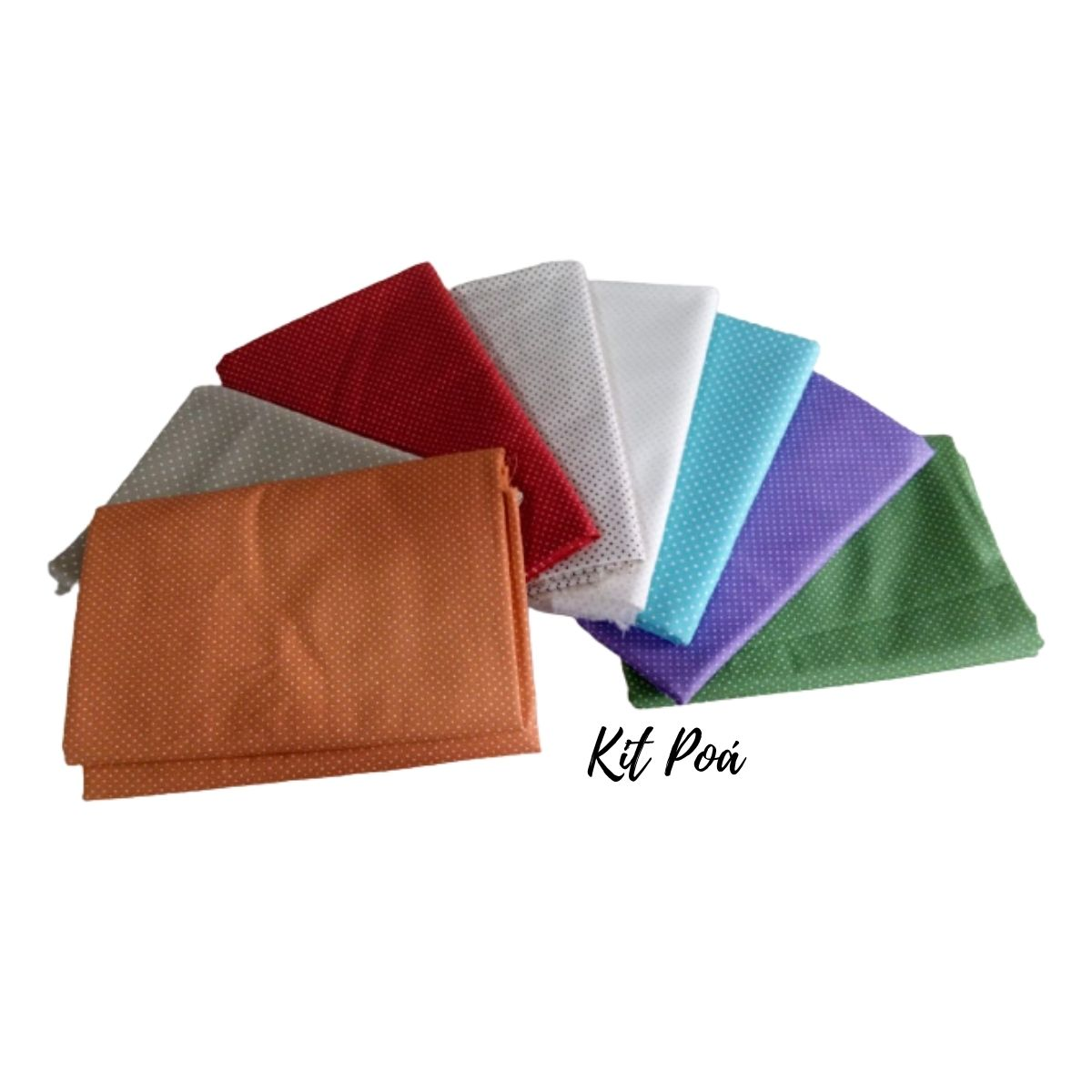 Kit Tecidos Tricoline Premium 8 Estampas - 100% Algodão