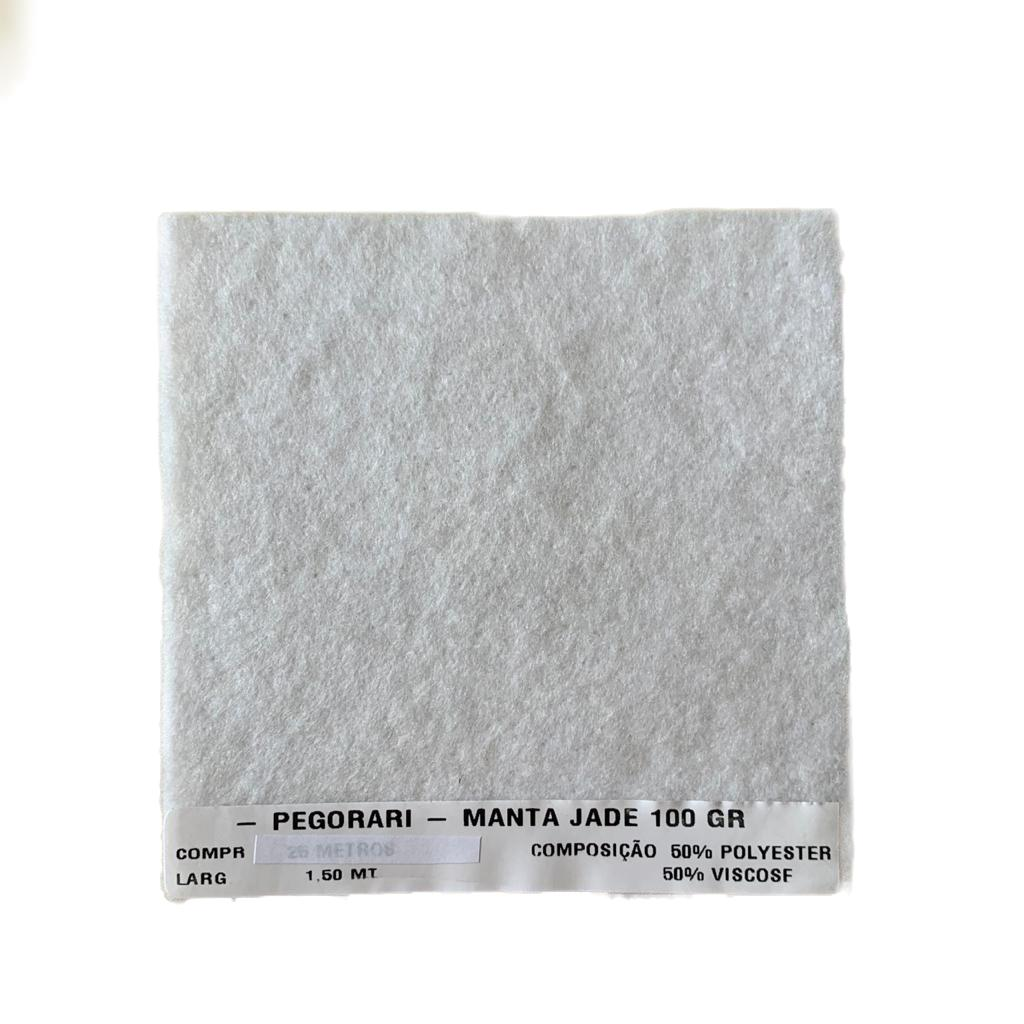 Manta Poly/Visc Jade 100Gr Pegorari 0,50 cm x 1,50 M