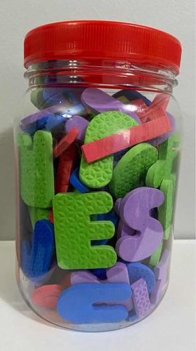 Letras E Números Pedagógico Montessori Alfabeto E.v.a 138 Peças