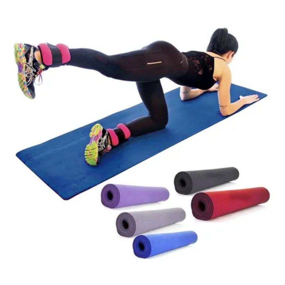 Tapete EVA - Colchonete Yoga Ginástica Pilates 1,80x53