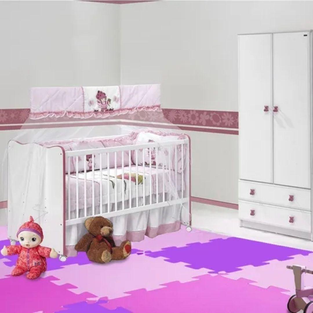 Tatame Tapete EVA  de encaixe Bebê e Infantil - 50 x 50 cm