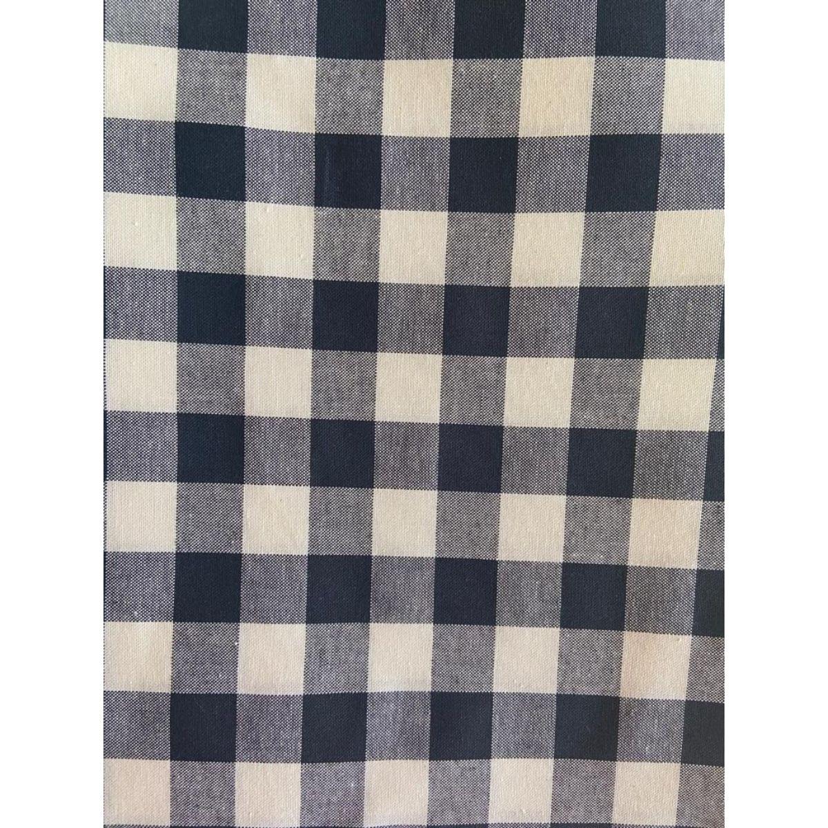 Tecido Oxfordine 100% Algodão 0,50 cm x 1,50 m de Largura - Xadrez Fio Tinto