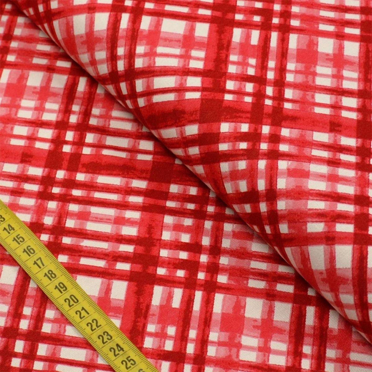 Tecido Sarja 100% Algodão Estampas corte 0,50 cm x 1,50 m de Largura - Coleção Põe na Mesa
