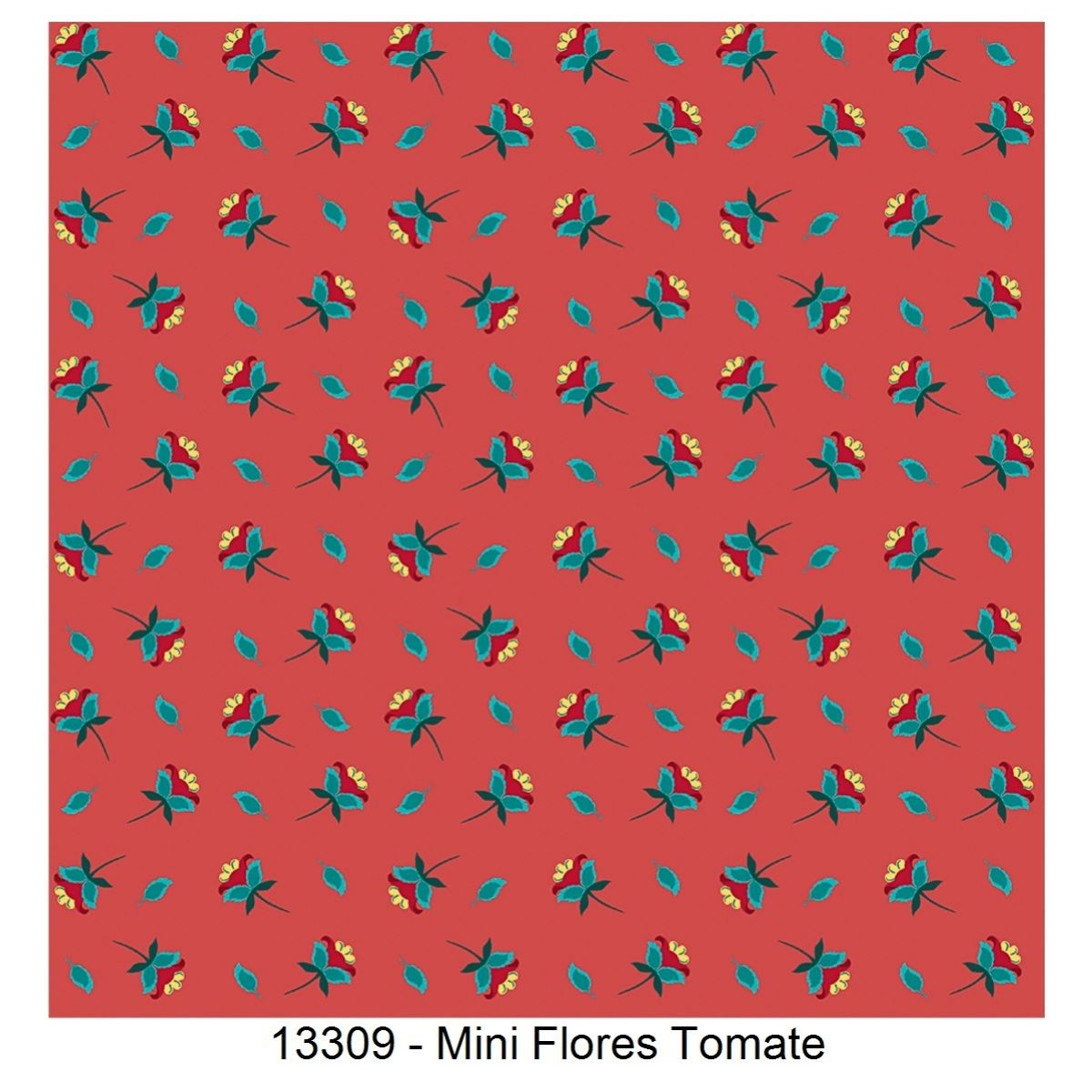 Tecido Tricoline 100% Algodão 0,50 cm x 1,50 m de Largura - Coleção Caleidoscópio