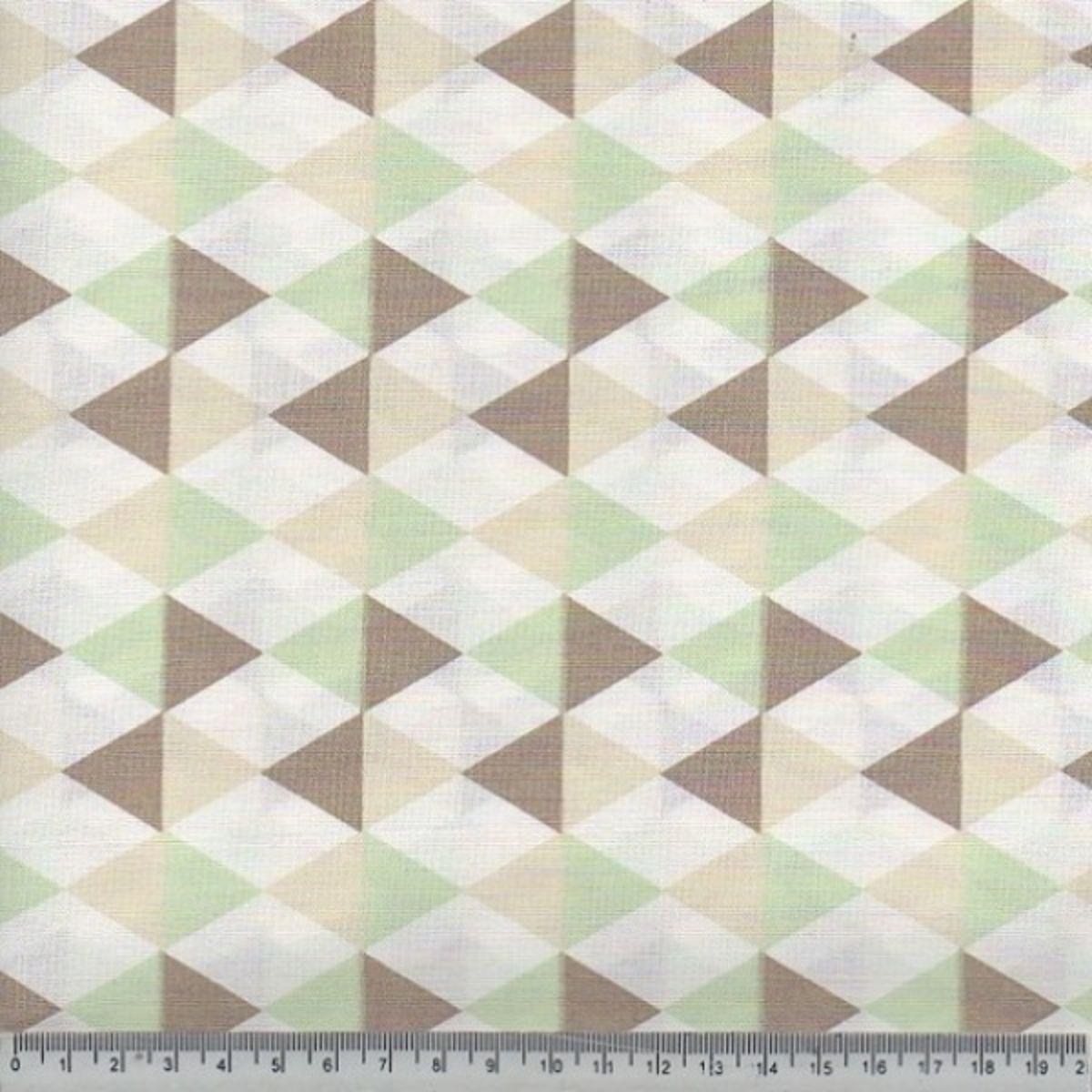 Tecido Tricoline 100% Algodão 0,50 cm x 1,50 m de Largura - Coleção Safari