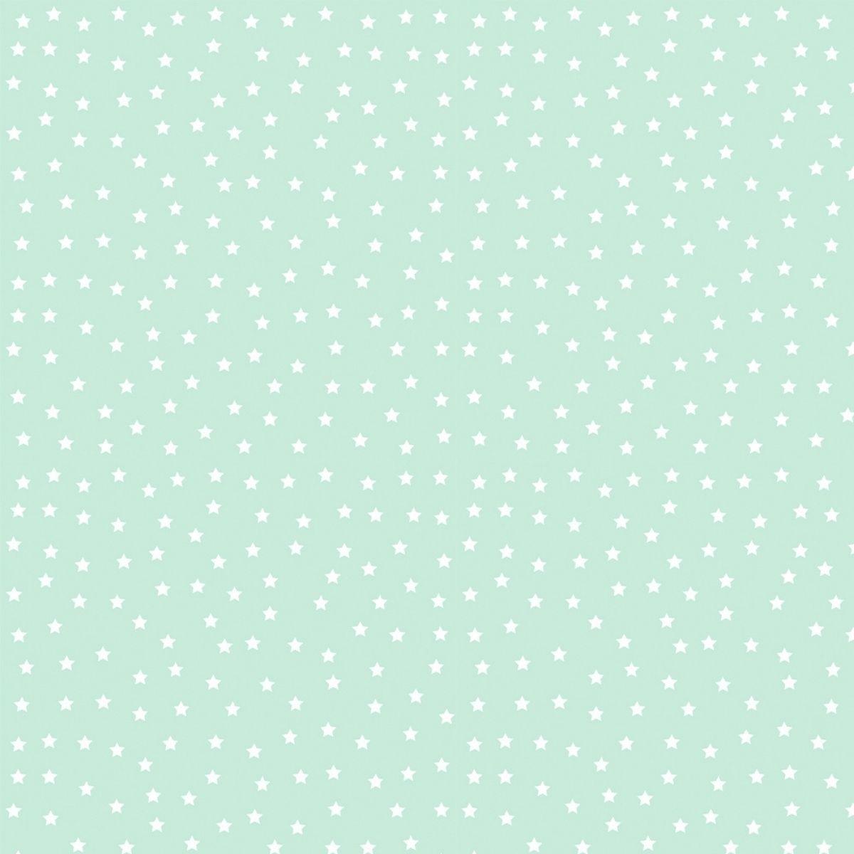 Tecido Tricoline 100% Algodão 1M x 1,50CM de Largura - Coleção Basic Baby