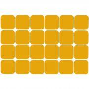 Demarcador de Piso Quadrado | Cartela c/ 24 unidades - Isoflex