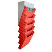 Escaninho Big Isolean de Parede - Isoflex | Vermelho