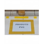 Identificador de Adesivo para Piso A4 | Kit 05 unidades