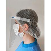 Máscara de proteção facial MFI - Injetada - uso PROFISSIONAL - KIT c/ 5