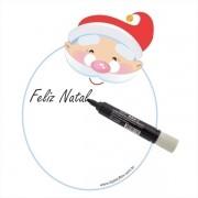 Lousa magnética - Natal 30 x 23cm - Isoflex