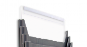 Porta Título de Topo Isolean A4 | Kit 5 unidades
