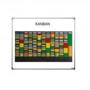 Quadro em MDF Kanban