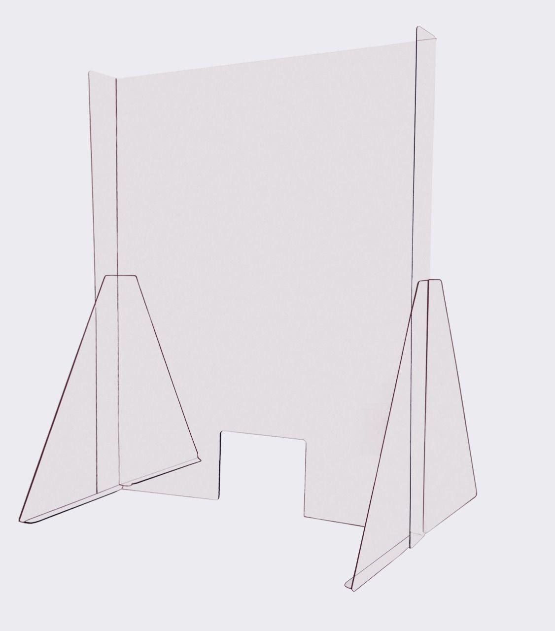 Barreira protetora COVID-19 | 60cm x 60cm