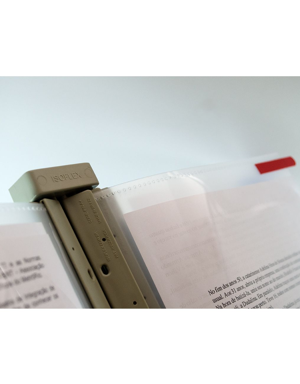 Combo Promocional 1 - 5 pastas Inova + 1 Suporte SIP1-005 + Kit com 5 Identificadores de Piso