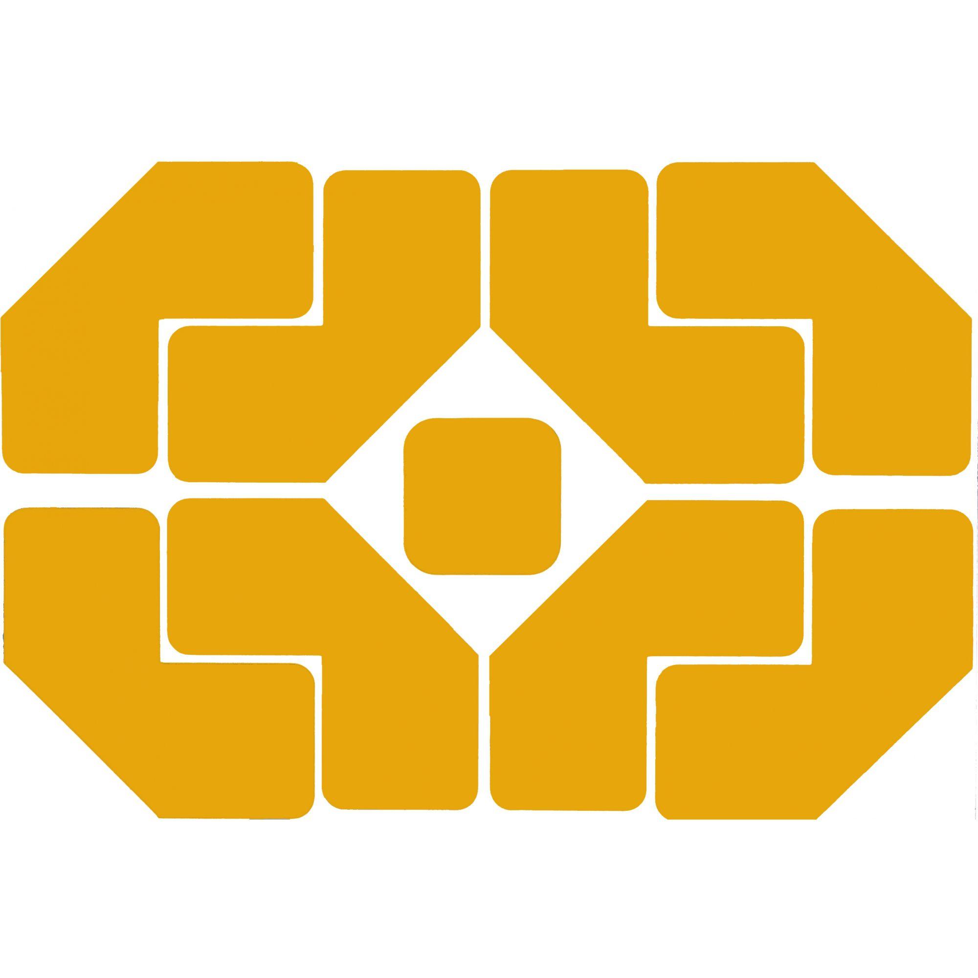 """Demarcador de Piso Formato """"L"""" - Cartela c/ 8 unidades - Isoflex"""