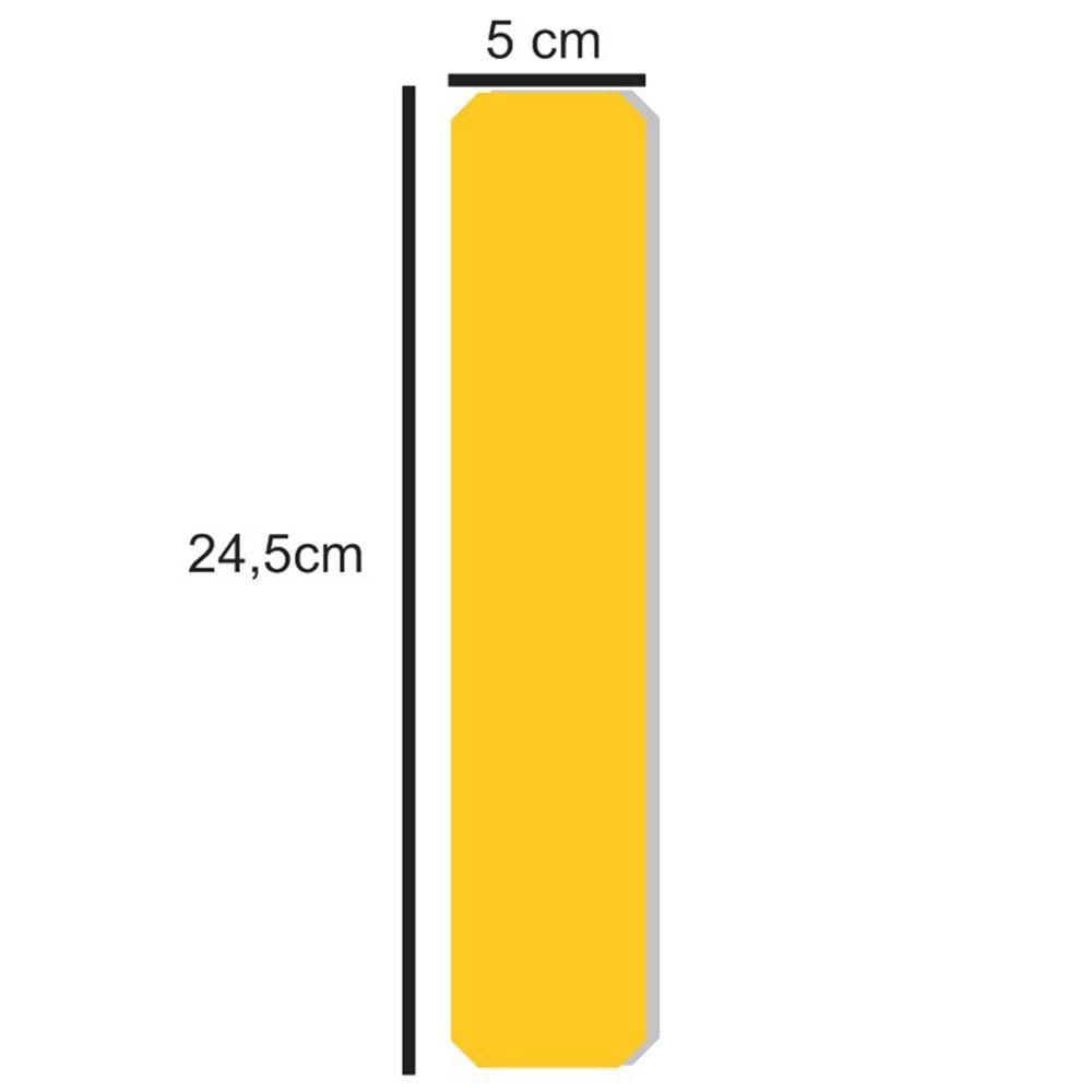 Demarcador de Piso Longitudinal - Cartela c/ 4 unidades