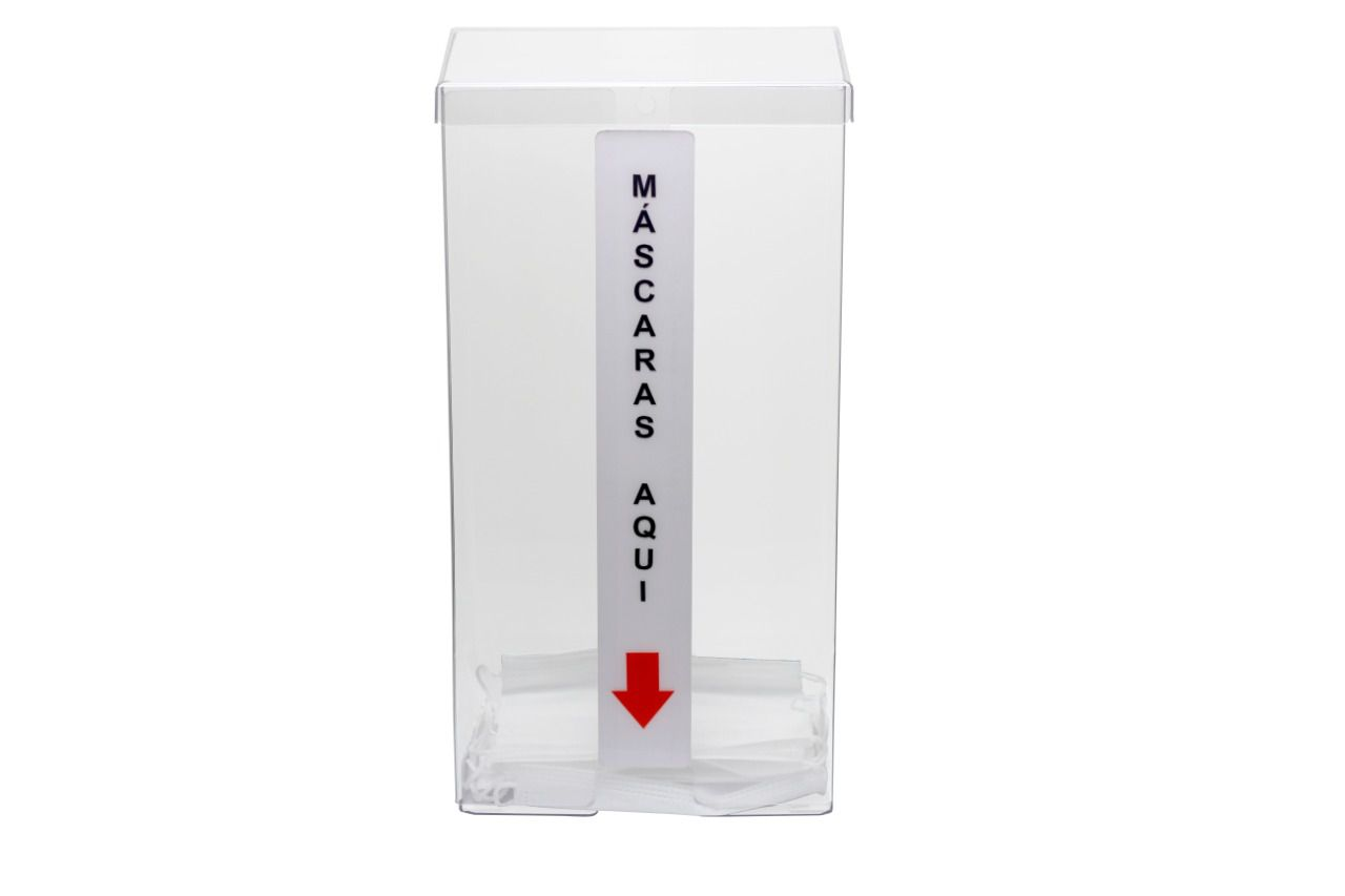 Dispenser de máscaras p/ 250  máscaras