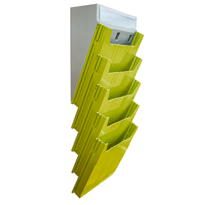 Escaninho Big Isolean de Parede - Isoflex | Amarelo