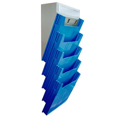 Escaninho Big Isolean de Parede - Isoflex | Azul