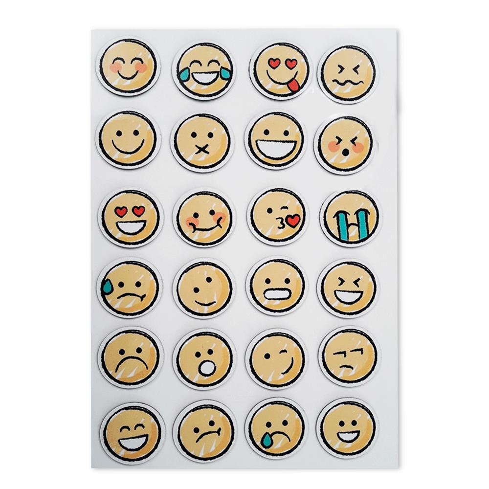 Imãs em Formato de Emojis para Quadros | Kit com 24 unidades