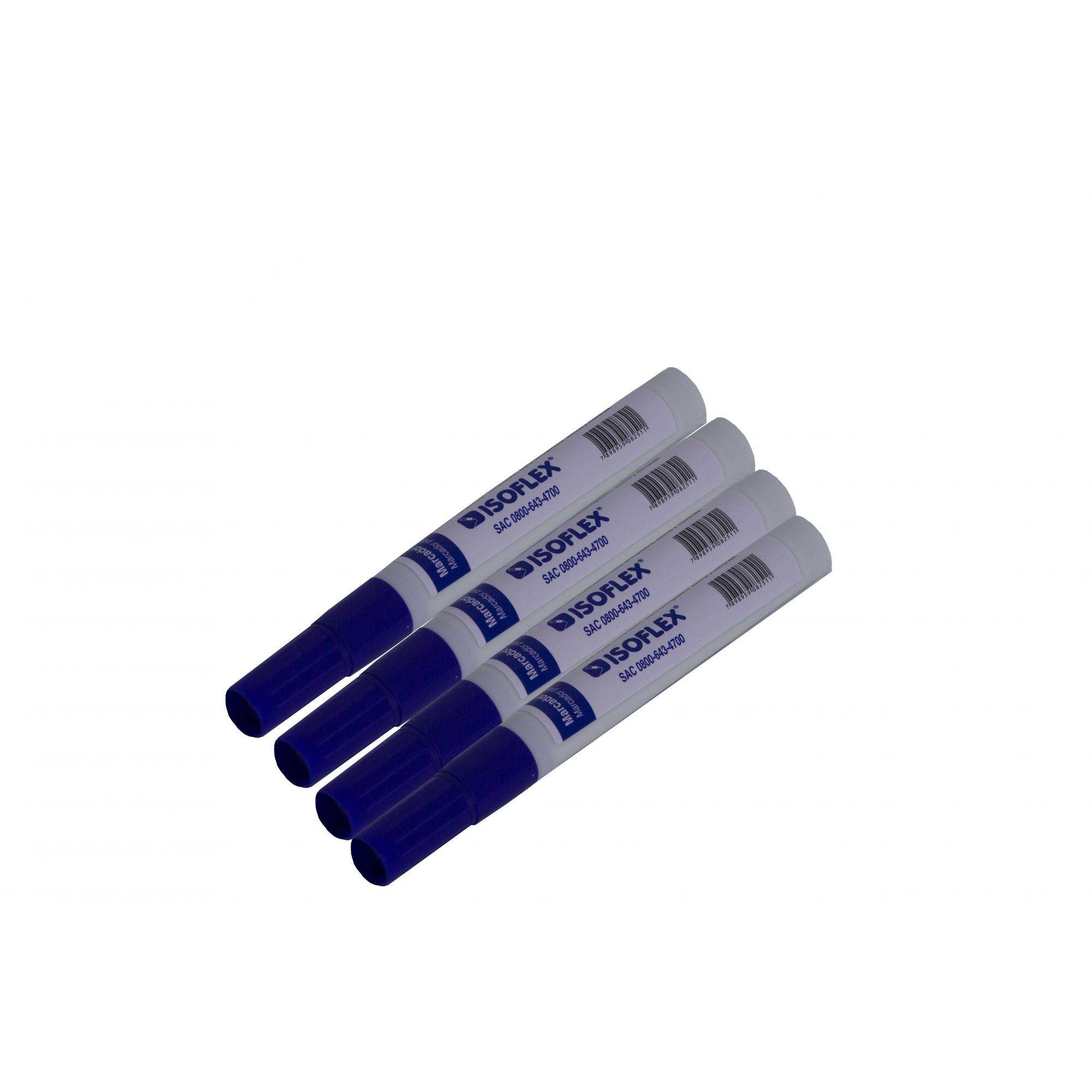 Kit de marcador de quadro branco c / 12 unidades - Isoflex