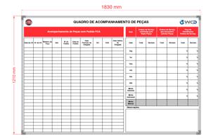 Kit de Quadros FIAT e JEEP com Prog. da Oficina e Acomp, de Peças