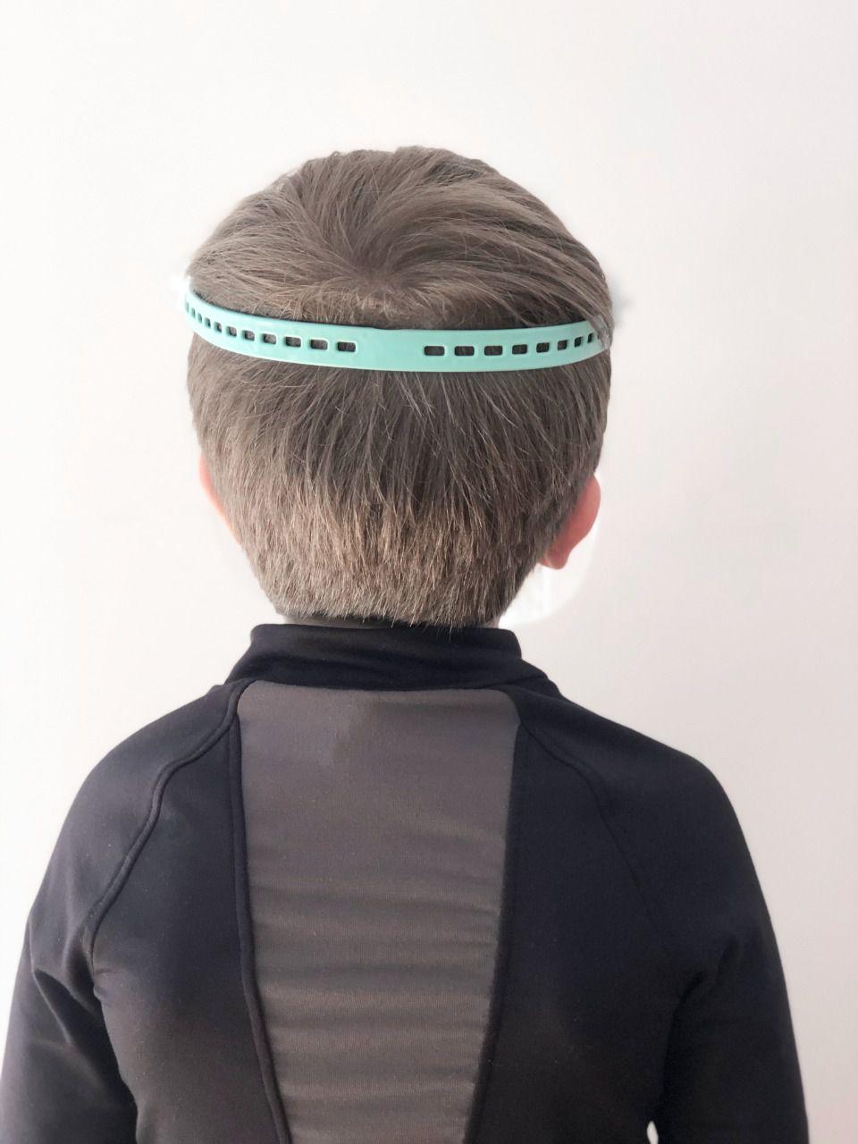 Máscara de Proteção Facial Infantil - SOFT ( kit c/ 3 unidades)