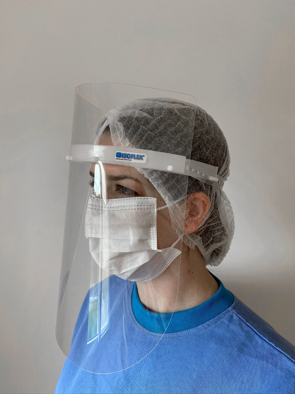 Máscara de proteção facial MFI - Injetada - uso PROFISSIONAL
